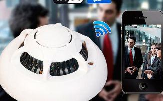 Cкрытая шпионская wi-fi ip видеокамера