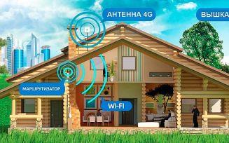 Как усилить 3g и 4g сигнал на даче?