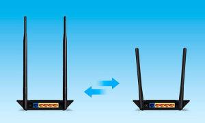 Правильное расположение антенн wi-fi роутера