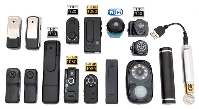 Автономные мини камеры