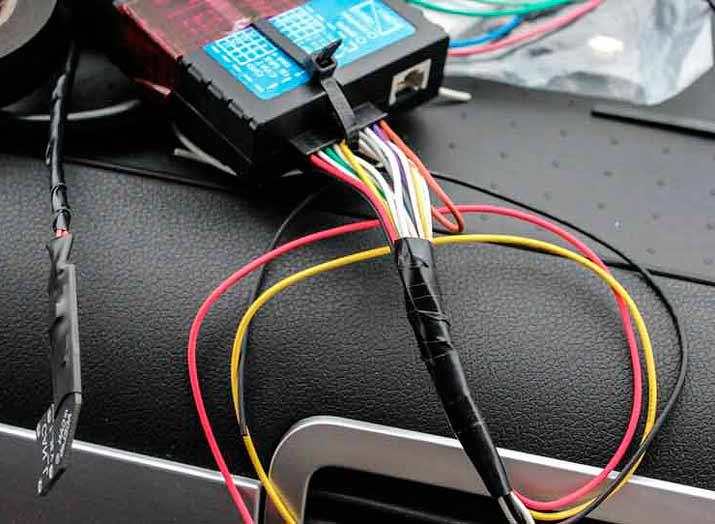 Подключение GPS трекера