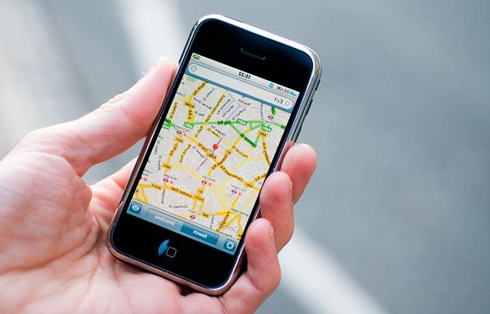 Геолокация на мобильнике