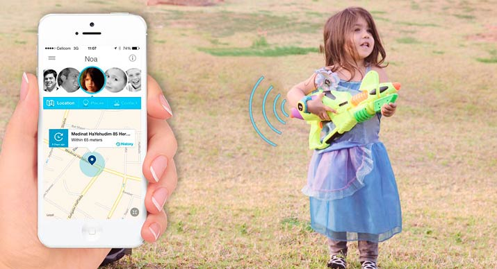 Gps датчик для детей