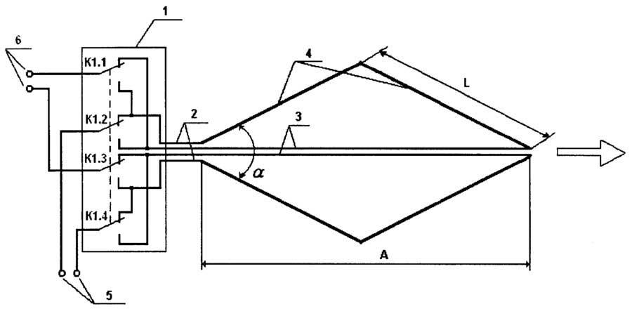 Схема ромбовидного усилителя