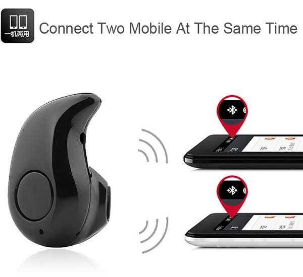 Возможность подключения к двум телефонам